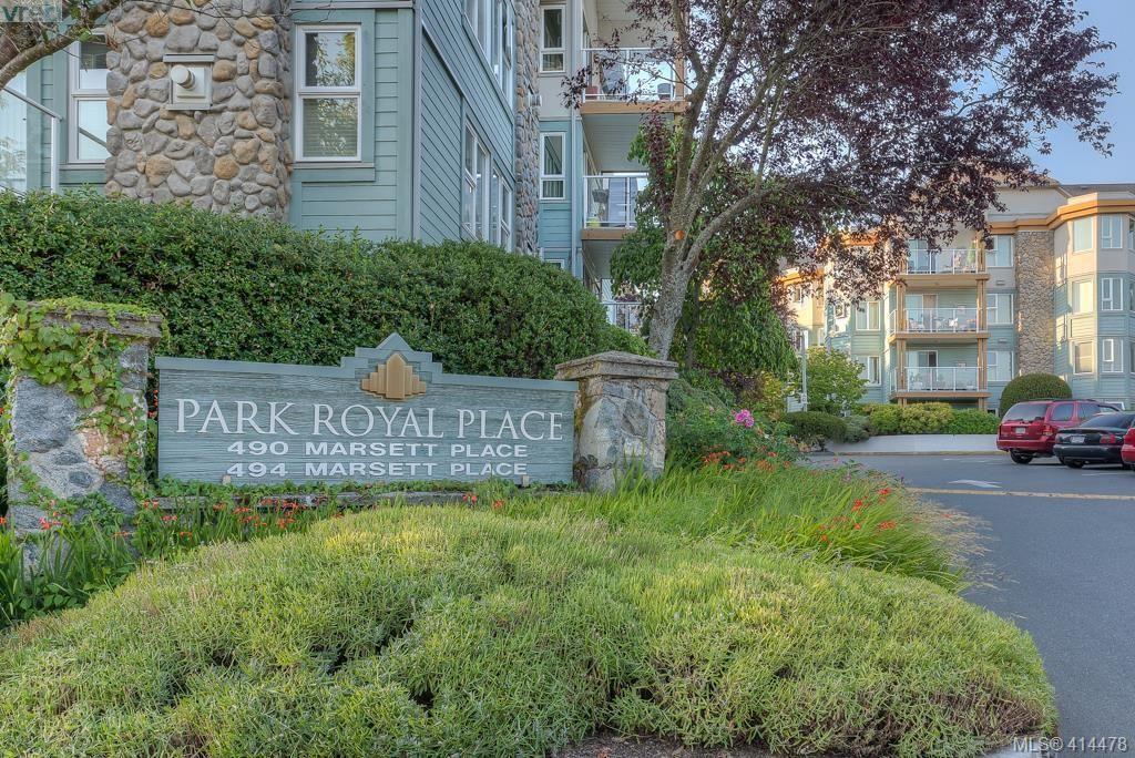 Main Photo: 309 490 Marsett Pl in VICTORIA: SW Royal Oak Condo for sale (Saanich West)  : MLS®# 822080
