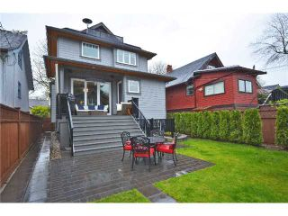 Photo 17: 3309 W 12TH AV in Vancouver: Kitsilano House for sale (Vancouver West)  : MLS®# V1009106