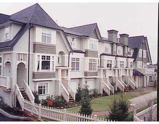 "Photo 1: 75 3711 ROBSON CT in Richmond: Terra Nova Townhouse for sale in ""TENNYSON GARDENS"" : MLS®# V540422"