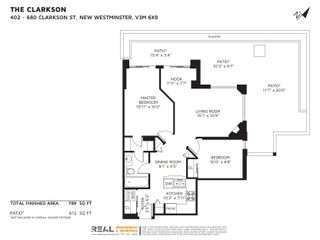 """Photo 2: 407 680 CLARKSON Street in New Westminster: Downtown NW Condo for sale in """"THE CLARKSON"""" : MLS®# R2595710"""