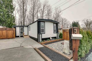 "Main Photo: 3 32380 LOUGHEED Highway in Mission: Mission BC Manufactured Home for sale in ""The Grove Mobile Home Park"" : MLS®# R2558869"
