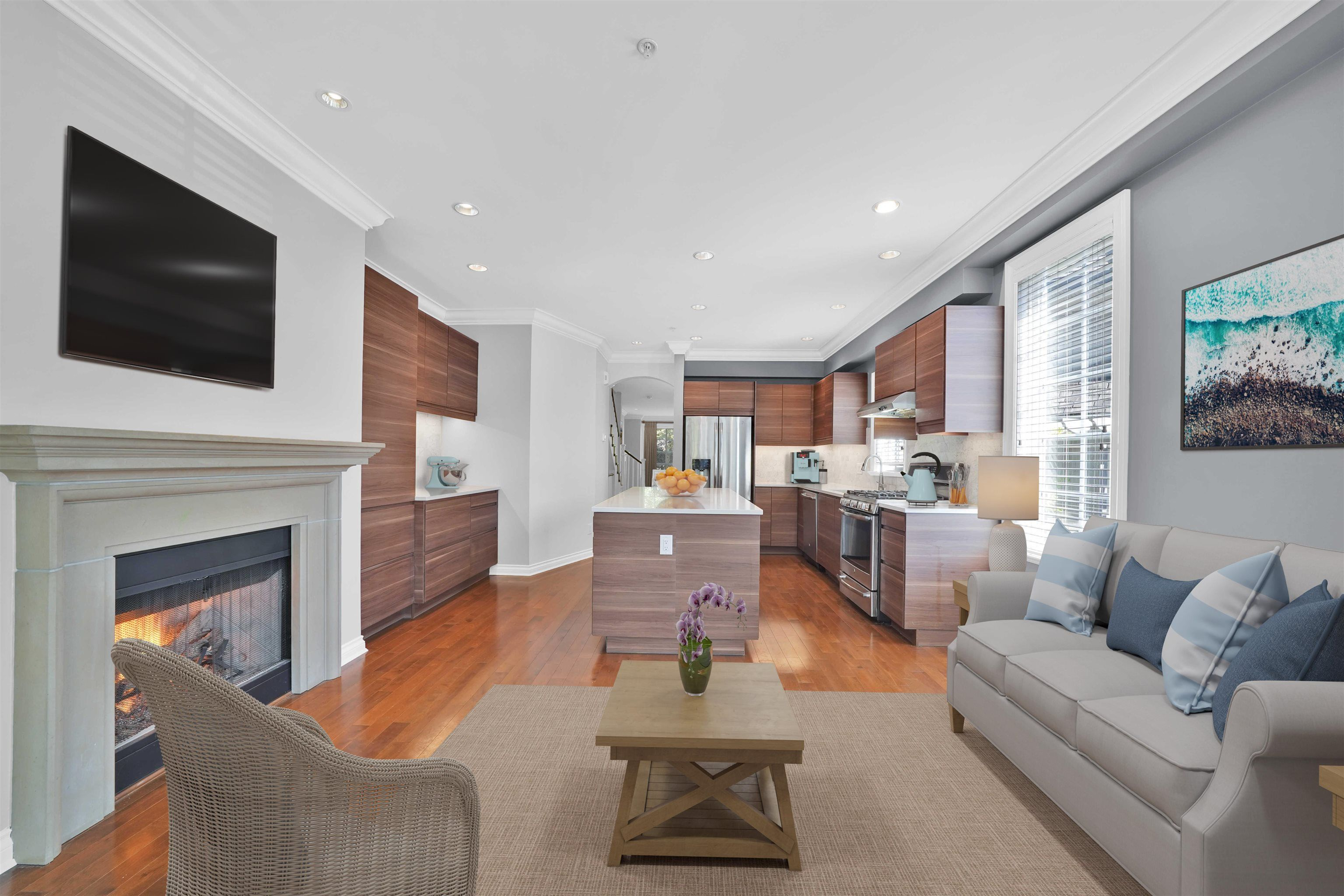 """Main Photo: 6377 LARKIN Drive in Vancouver: University VW Townhouse for sale in """"WESTCHESTER"""" (Vancouver West)  : MLS®# R2619348"""