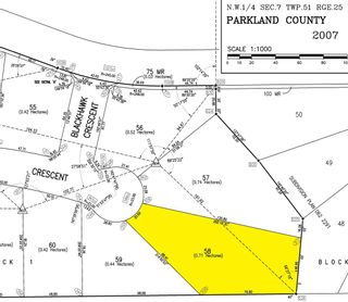 Photo 3: 58 25527 TWP RD 511A Road: Rural Parkland County Rural Land/Vacant Lot for sale : MLS®# E4235772