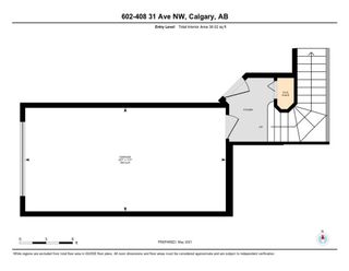 Photo 34: 602 408 31 Avenue NW in Calgary: Mount Pleasant Row/Townhouse for sale : MLS®# A1112467