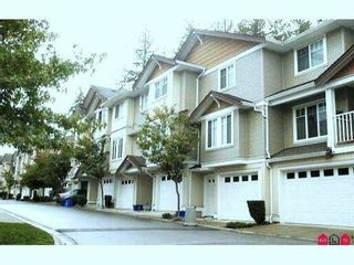 """Photo 1: 97 12711 64TH Avenue in Surrey: West Newton Townhouse for sale in """"PALETTE ON THE PARK"""" : MLS®# F1213722"""