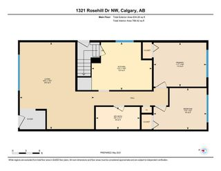 Photo 32: 1321 Rosehill Drive NW in Calgary: Rosemont Semi Detached for sale : MLS®# A1112499