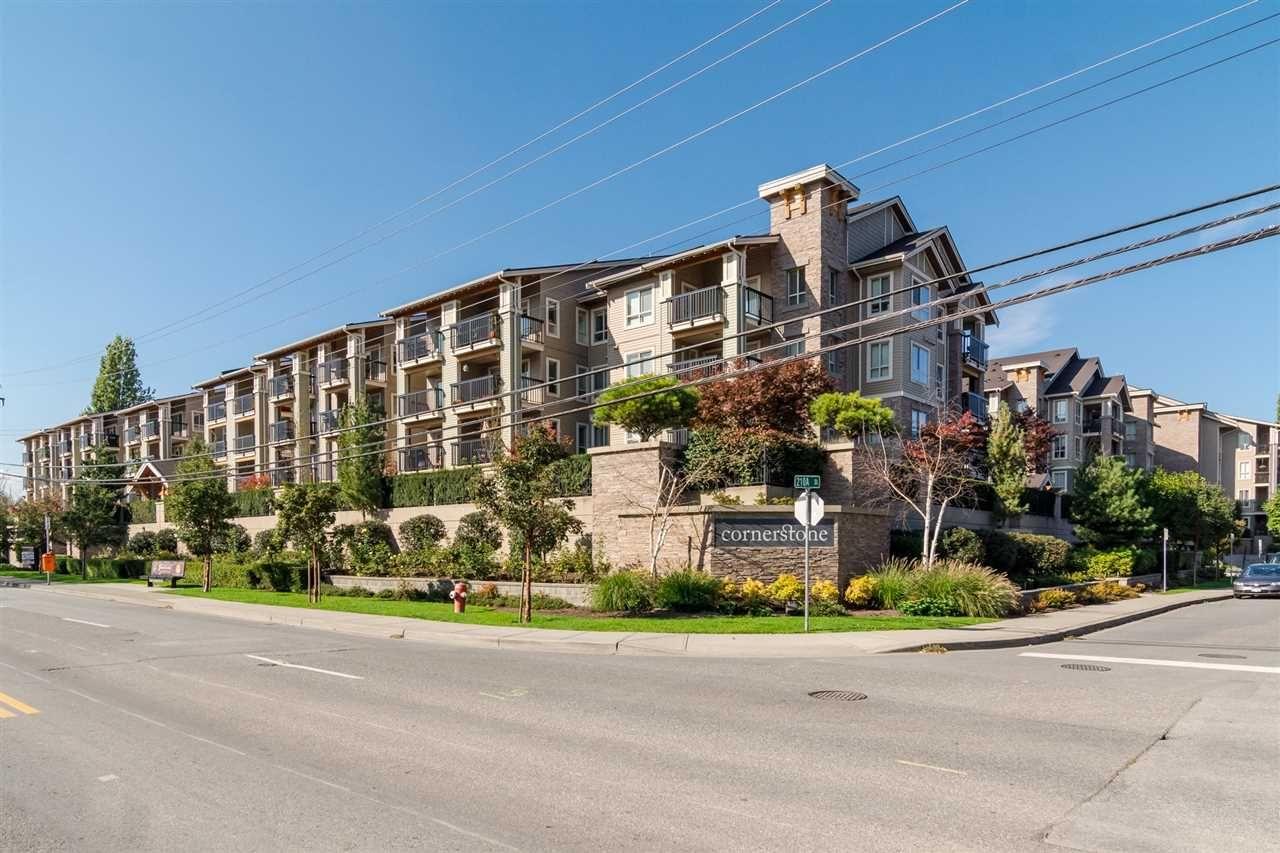"""Main Photo: 116 21009 56 Avenue in Langley: Salmon River Condo for sale in """"CORNERSTONE"""" : MLS®# R2296673"""