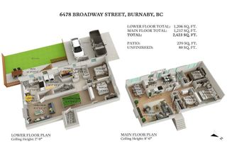 Photo 38: 6478 BROADWAY STREET in Burnaby: Parkcrest House for sale (Burnaby North)  : MLS®# R2601207