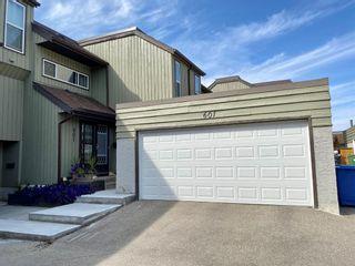Photo 1: 601 5660 23 Avenue NE in Calgary: Pineridge Row/Townhouse for sale : MLS®# A1134714