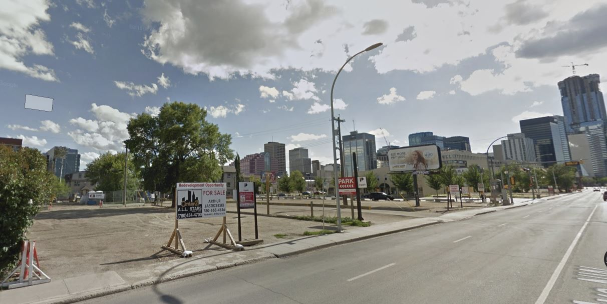 Main Photo: 9551 103A Avenue in Edmonton: Zone 13 Land Commercial for sale : MLS®# E4248582