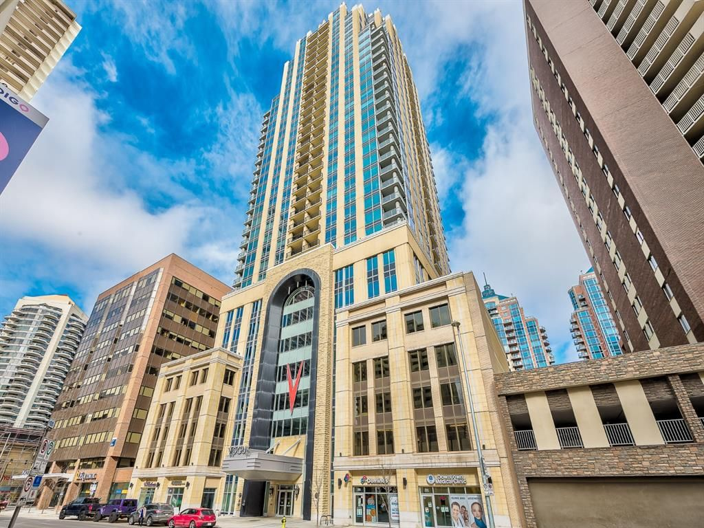 Main Photo: 1203 930 6 Avenue SW in Calgary: Downtown Commercial Core Apartment for sale : MLS®# A1117164
