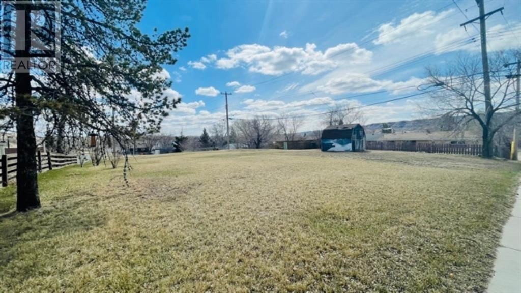 Main Photo: 302 16 Street in Drumheller: Vacant Land for sale : MLS®# A1097311