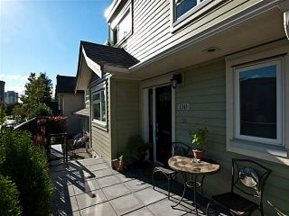 "Photo 2: 1743 CHESTERFIELD Avenue in North Vancouver: Central Lonsdale Townhouse for sale in ""Central Lonsdale"" : MLS®# V1054399"