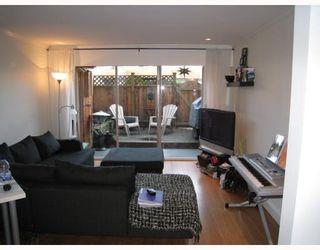 """Photo 5: 106 2211 W 5TH Avenue in Vancouver: Kitsilano Condo for sale in """"WEST POINTE VILLA"""" (Vancouver West)  : MLS®# V805942"""