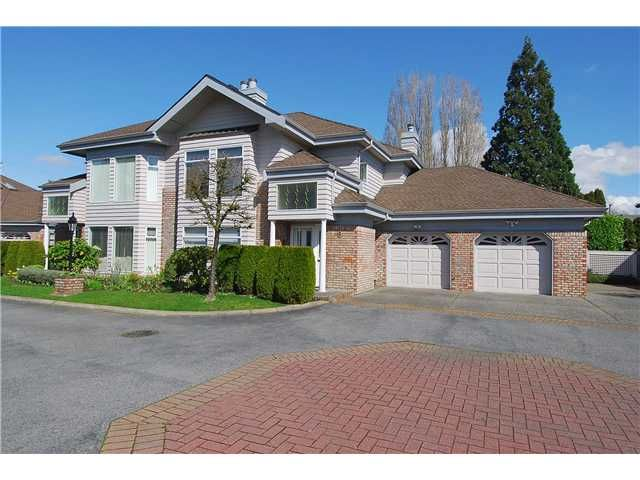 """Main Photo: 9 7760 BLUNDELL Road in Richmond: Broadmoor Townhouse for sale in """"SUNNYMEDE ESTATES"""" : MLS®# V942111"""