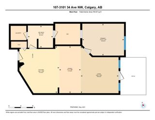 Photo 31: 107 3101 34 Avenue NW in Calgary: Varsity Apartment for sale : MLS®# A1111048