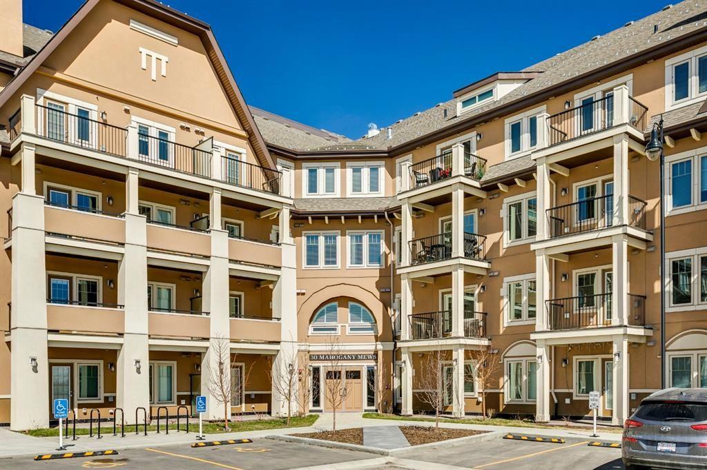 Main Photo: 301 30 Mahogany Mews SE in Calgary: Mahogany Apartment for sale : MLS®# A1094376