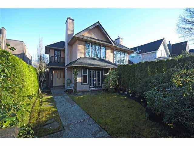Main Photo: 2157 W 14TH AVENUE in : Kitsilano 1/2 Duplex for sale : MLS®# V1053978