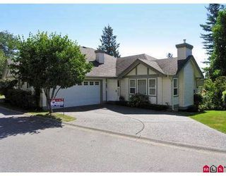 "Photo 1: 5 36099 MARSHALL Road in Abbotsford: Abbotsford East Townhouse for sale in ""UPLANDS"" : MLS®# F2722290"