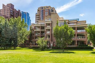 Main Photo: 505 600 Princeton Way SW in Calgary: Eau Claire Apartment for sale : MLS®# A1106177