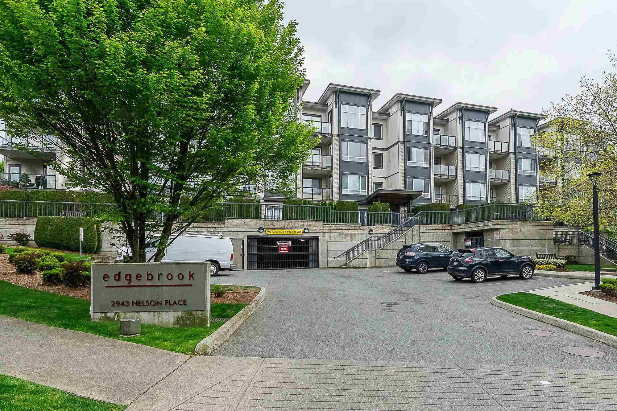 """Main Photo: 417 2943 NELSON Place in Abbotsford: Central Abbotsford Condo for sale in """"Edgebrook"""" : MLS®# R2594273"""