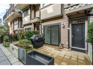 """Photo 2: 12 838 ROYAL Avenue in New Westminster: Downtown NW Townhouse for sale in """"The Brickstone 2"""" : MLS®# R2600848"""