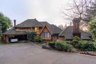Photo 1: 1366 CAMMERAY Road in West Vancouver: Chartwell House for sale : MLS®# R2526602