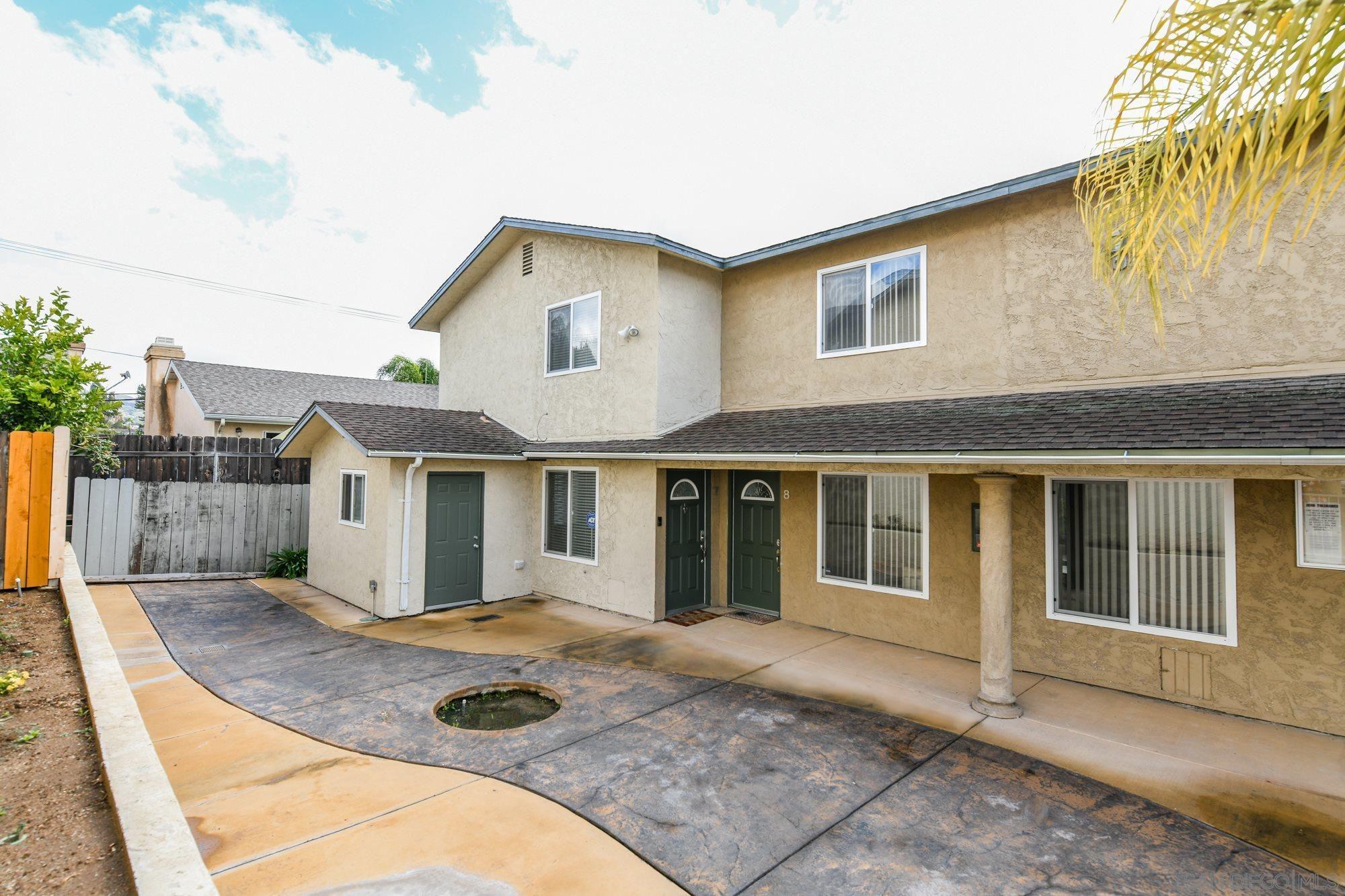 Main Photo: EL CAJON Condo for sale : 2 bedrooms : 1491 Peach Ave #7