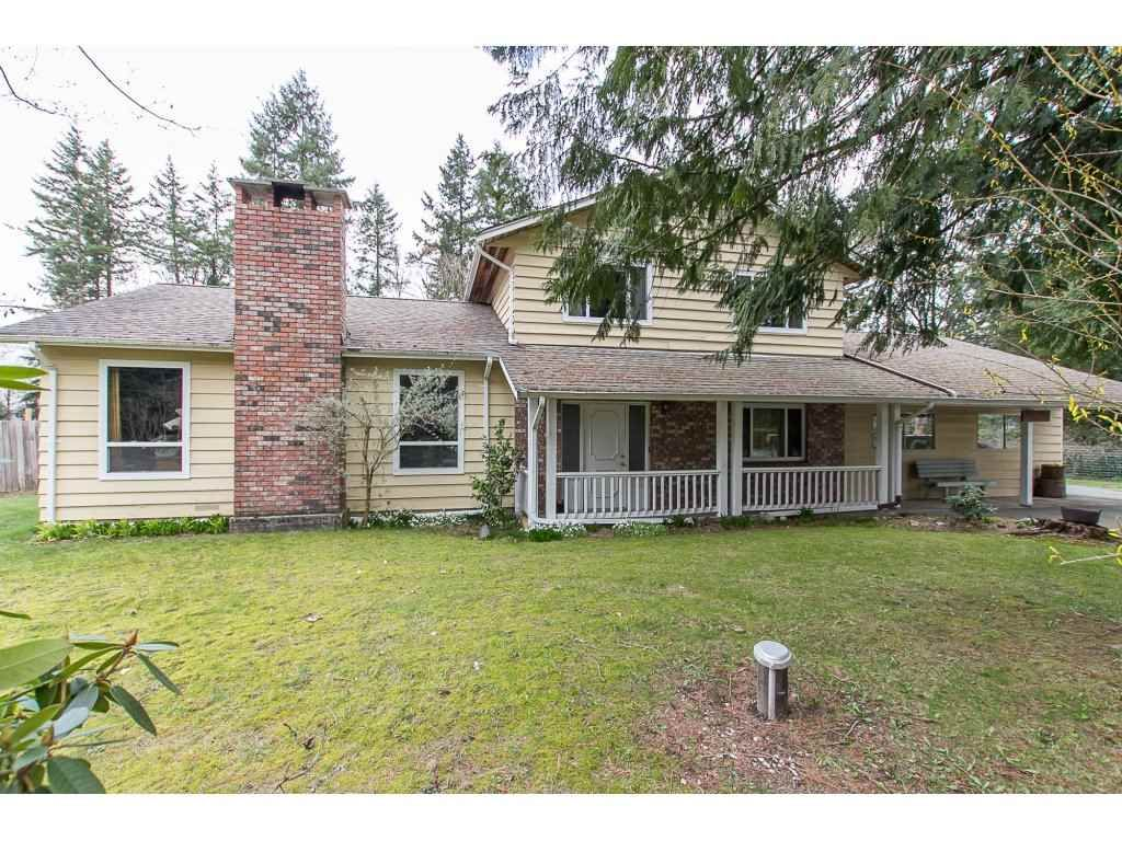 """Main Photo: 23731 54A Avenue in Langley: Salmon River House for sale in """"Tall Timbers"""" : MLS®# R2249568"""