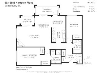 "Photo 25: 203 5683 HAMPTON Place in Vancouver: University VW Condo for sale in ""Wyndham Hall"" (Vancouver West)  : MLS®# R2530043"