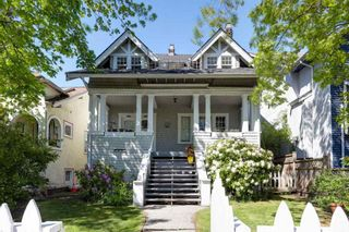 Photo 1: 3323-25 W 3RD Avenue in Vancouver: Kitsilano House for sale (Vancouver West)  : MLS®# R2577966