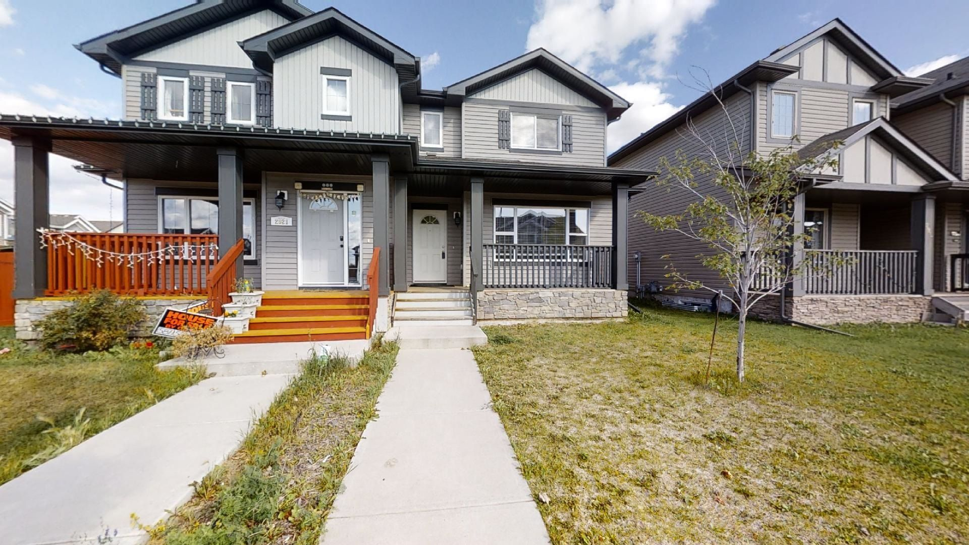 Main Photo: 2919 15 Street in Edmonton: Zone 30 House Half Duplex for sale : MLS®# E4260397