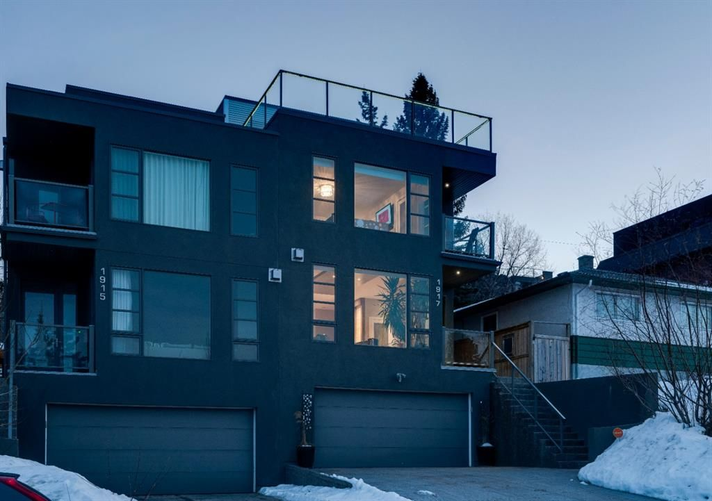 Main Photo: 1917 28 Avenue SW in Calgary: South Calgary Semi Detached for sale : MLS®# A1046165