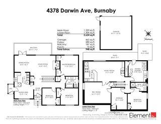 Photo 37: 4378 DARWIN Avenue in Burnaby: Burnaby Hospital House for sale (Burnaby South)  : MLS®# R2554506