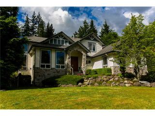 Photo 1: 173 SPARKS Way: Anmore House for sale (Port Moody)  : MLS®# V1012521