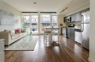 "Photo 3: 402 2511 QUEBEC Street in Vancouver: Mount Pleasant VE Condo for sale in ""OnQue"" (Vancouver East)  : MLS®# R2072084"