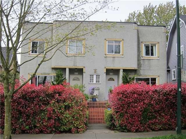 Main Photo: 2335 W 10TH Avenue in Vancouver: Kitsilano Duplex for sale (Vancouver West)  : MLS®# V948358