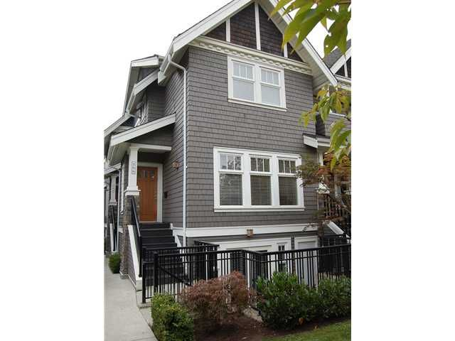 "Main Photo: 166 W 14TH AV in Vancouver: Mount Pleasant VW Townhouse for sale in ""Cambie Village"" (Vancouver West)"