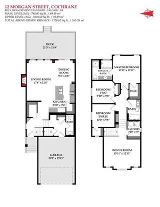 Photo 48: 12 Morgan Street: Cochrane Detached for sale : MLS®# A1048324