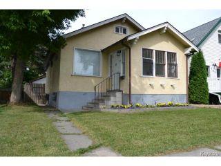 Photo 1: 167 Martin Avenue West in WINNIPEG: East Kildonan Residential for sale (North East Winnipeg)  : MLS®# 1419683