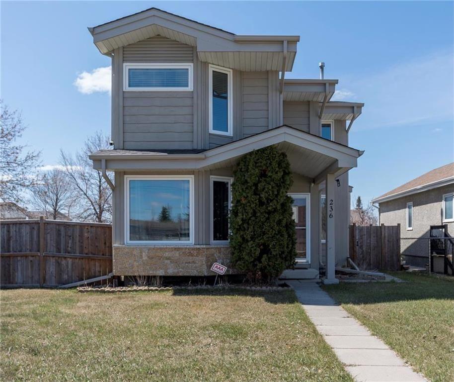 Main Photo: 236 Fernbank Avenue in Winnipeg: Riverbend Residential for sale (4E)  : MLS®# 202111424