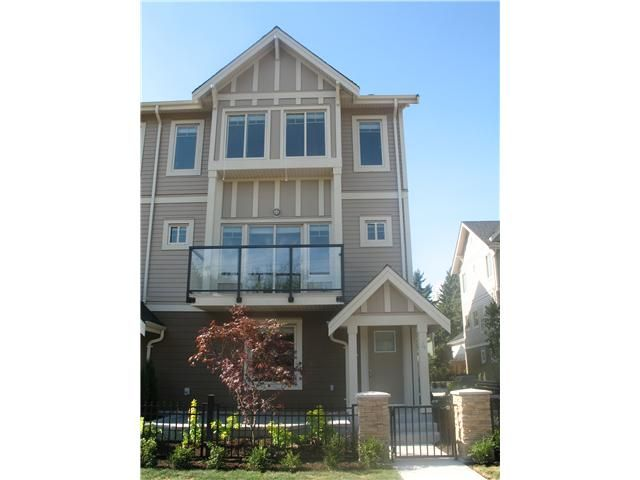 "Main Photo: 2 7489 16TH Street in Burnaby: Highgate Townhouse for sale in ""HIGHGATE PLACE"" (Burnaby South)  : MLS®# V922885"