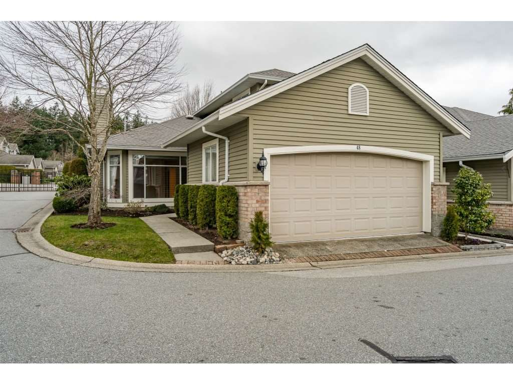 """Main Photo: 48 2672 151 Street in Surrey: Sunnyside Park Surrey Townhouse for sale in """"THE WESTERLEA"""" (South Surrey White Rock)  : MLS®# R2546448"""