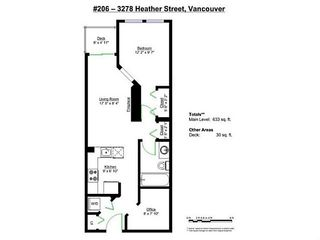"""Photo 19: 206 3278 HEATHER Street in Vancouver: Cambie Condo for sale in """"The Heatherstone"""" (Vancouver West)  : MLS®# V1121190"""