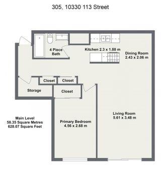 Photo 5: 305 10330 113 Street in Edmonton: Zone 12 Condo for sale : MLS®# E4250079