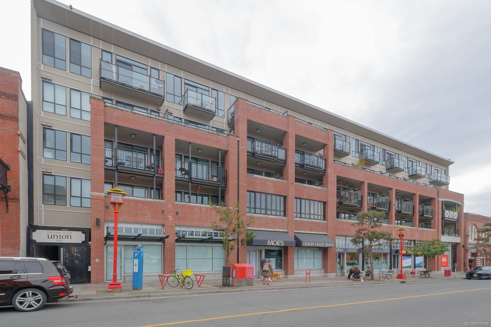Main Photo: 407 517 Fisgard St in Victoria: Vi Downtown Condo for sale : MLS®# 878086