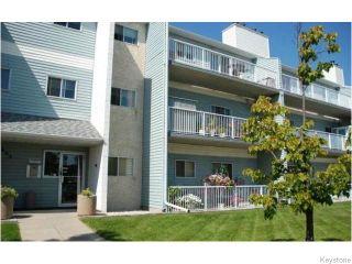Photo 1: 311 1683 Plessis Road in Winnipwg: Transcona Condominium for sale (North East Winnipeg)  : MLS®# 1519474