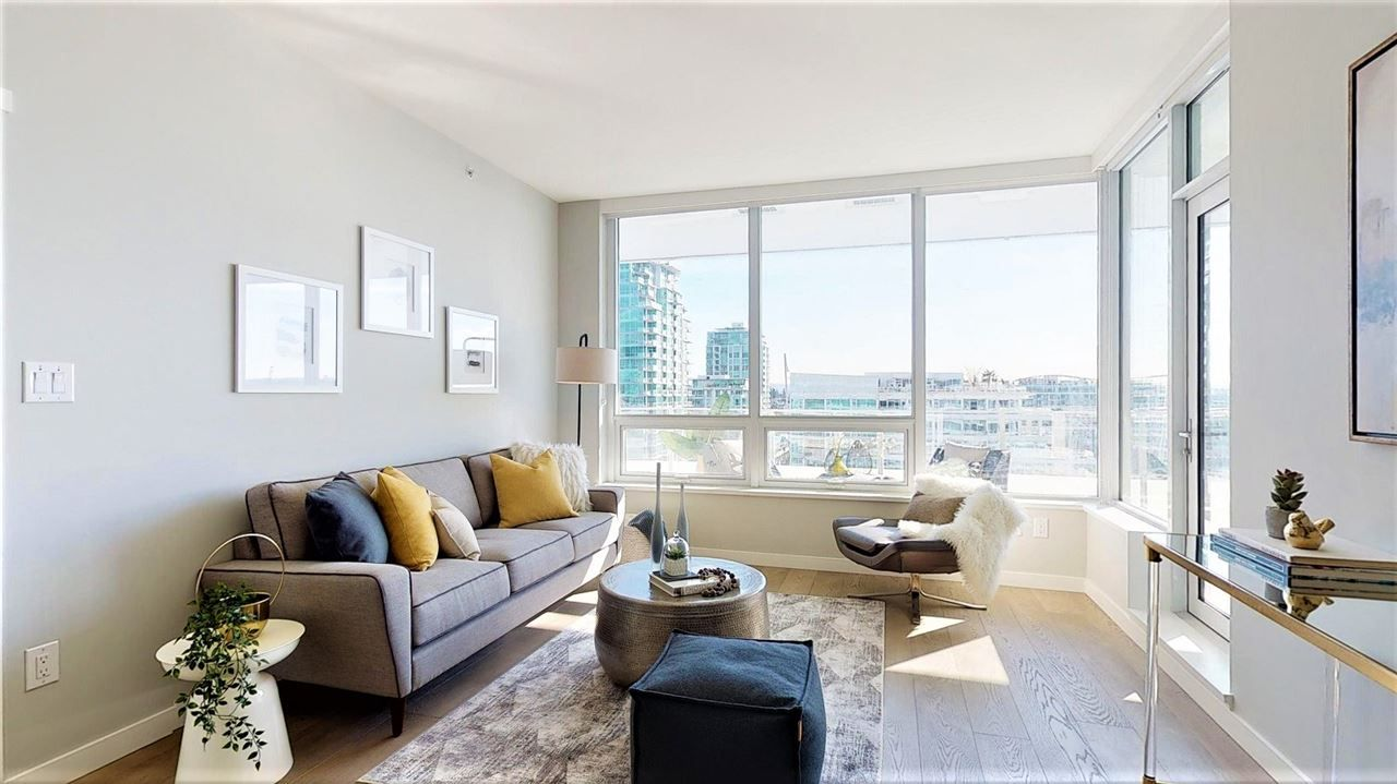 Main Photo: 1208 118 CARRIE CATES Court in North Vancouver: Lower Lonsdale Condo for sale : MLS®# R2437966