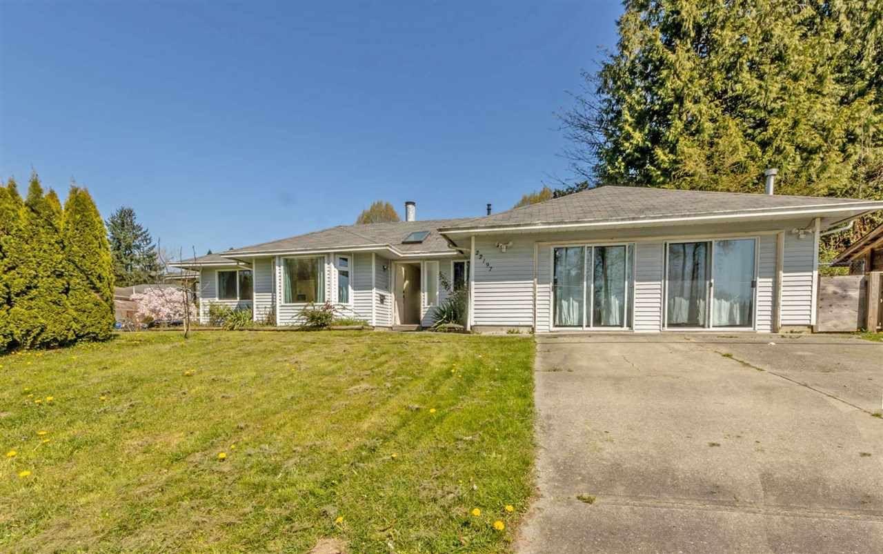 Main Photo: R2567284 - 22197 RIVER RD, MAPLE RIDGE HOUSE