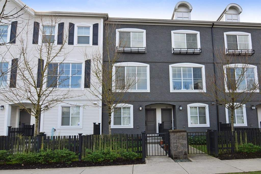 Main Photo: 21 19180 65 AVENUE in : Clayton Townhouse for sale : MLS®# R2244885
